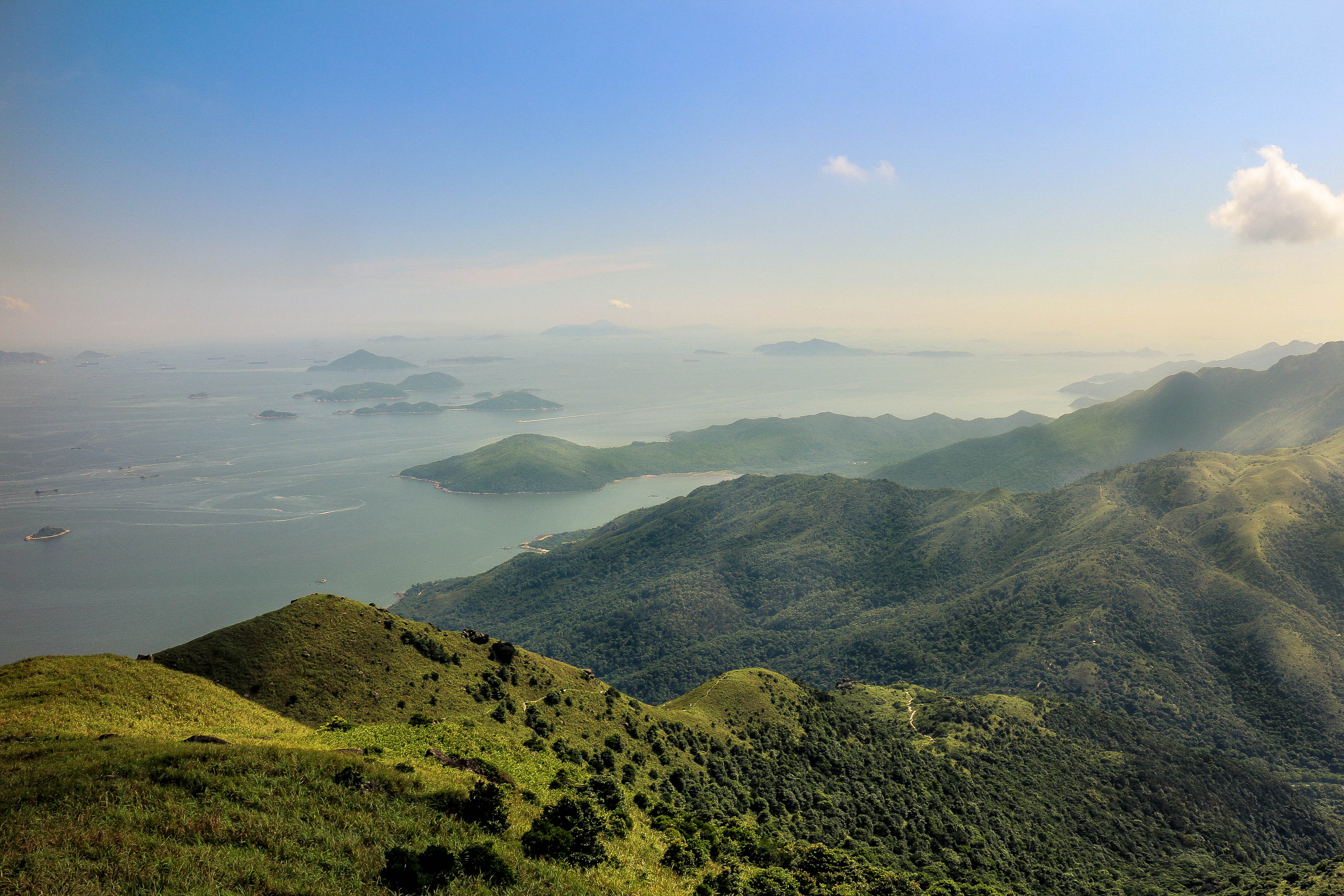 how to go to lantau island