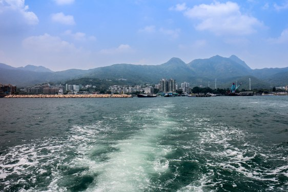 Leaving Sai Kung Town